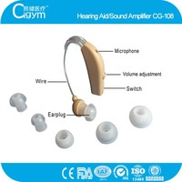 2015 Hot-selling New Fashion Sound Amplifier BTE Hearing Aid