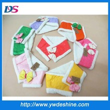 New product high quality winter warm children's lovely scarf with bowknot WJ-650