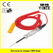 China Factory Professional electric circuit voltage tester pen /Automovie circuit pen tester with PU electric wire