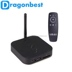 High Quality MINIX NEO X7 mini black color 2G/8G in minix series x7 mini smart tv box