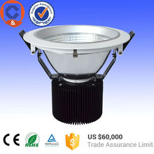 Q&c High Quality 40W recessed bridgelux cob led downlight for china top ten selling lighting LED products
