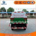 Changan Euro4 4 * 2 pequeno selado caminhão de lixo capacidade lote de lixo caminhão dimensões caminhões de lixo para venda