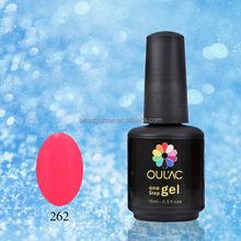 Beautyshow OULAC fashion new nails supplies design, one step gel, uv gel nail polish