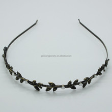 Women's Europe style Metal Iron Leaves hairbands hair bands