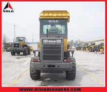 Lingong brand mini wheel loader LG918 1.8ton 1.0CBM with quick coupler