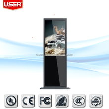 Stylish for conference rooms 42 inch indoor floor standing lcd advertising player CE/ROHS/FCC/UL wireless Lan
