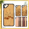 New arrival Eco-friendly real bamboo wood for iPhone mobile phone case