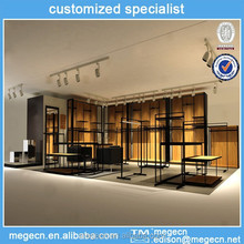 specialty store clothes display fixtures/rack decoration