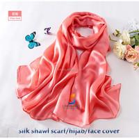Pattern Summer Arab Head scarves for women hijab shawl silk scarf