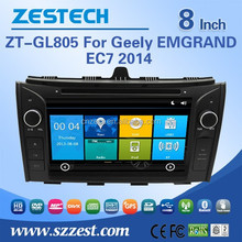 wholesale head unit for Geely EC7 1080P video Russia languages car gps player for Geely EC7