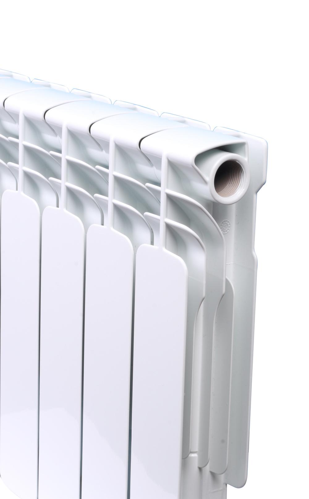 Chauffage central en aluminium radiateur chauffage bimétallique ...