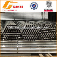 q345 erw galvanized steel pipe manufacturing in China