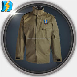 m65 field jacket industries with 1 arm pocket fold design at back adjustable cuff