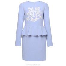 Pretty lady skirt light blue woman sweet skirt