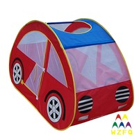 190T Polyester Car Shape Kids Play Tent for Childs Outdoor or Indoor Playing Funny Games