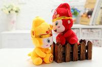 OEM 20cm Plush toy Monkey Children's Stuffed Animal Christmas Toy wedding monkey toys