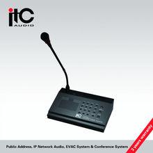 megafonía ip t-6702 micrófono del sistema