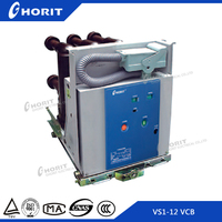 VS1 12kV with Embedded poles indoor high voltage vacuum circuit breaker for switchgear