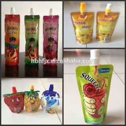 spout pouch with scraw cap filling capping machine for juice /Drink