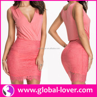 2015 new design ladies casual dresses pictures sexy