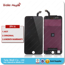 High quality hot sale! for iphone 6 lcd touch screen digitizer, original for iphone 6 lcd assembly