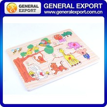 Wholesale Colorful Children Jigsaw Puzzle Kid Wooden Educational Toy