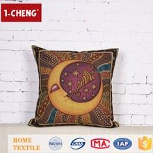 Creative Fashion Folk Art Printing Designs Cushion Inflatable Lumbar Support Cushion Turkish Elite Adult Cushions