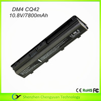 Hot sale 10.8V 7800mAh DM4 Laptop battery for HP CQ42 laptop battery