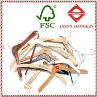 Custom wood coat hanger