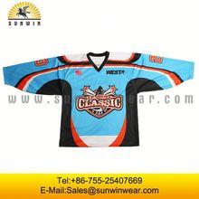 American flag sublimation cheap camo hockey jersey cheap unique ice hockey jersey School training
