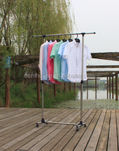 Economic single rod best selling clothes hanger bedroom