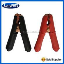 LongFuTe Carbon steel insulated battery clamp/Alligator clips /Crocodile Clip