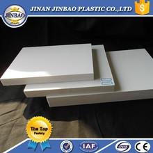 white 1220mmx2440mmm rigid pvc forex