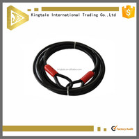 7x19 PVC coated galvanized steel wire rope sling
