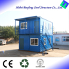 light steel living foldable prefab shipping container house for rent