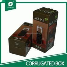 SHANGHAI SUPPLIER CORRUGATED BIN CANNING JAR BOXES FOR BEVERAGE CARRIER