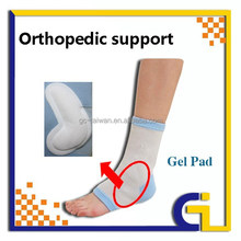 Nylon Knitting Ankle Brace with Gel Pad