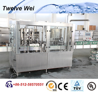 Factory Supplier Soda Filling Plant/Gas Water Filling Machine