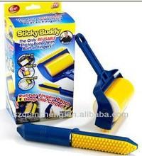 Sticky buddy clothing brush cleaning brush dust brush