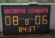 LED sports match (basketball/ football ) time programanable/electronic count controll card TF-CNT-D