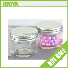Lovely mini glass candy jar crafts
