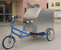 Pedal and Electric Cargo Trike