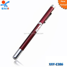 multifunction pointer metal ball pen with led light