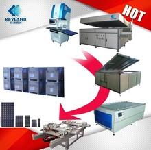 1MW 5MW10MW PV Solar Panel Assembly Line For Solar Module Plant