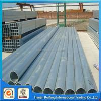 Supplier hot dip gi pipe, galvanized pipe , galvanized steel pipe main in Tianjin