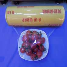 super clear plastic film/pvc cling film provider/fresh food package by SGS