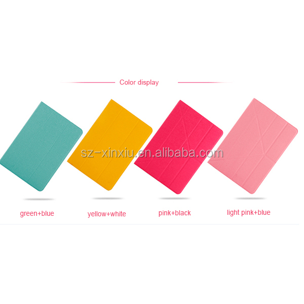 PU leather cover for Children's iPad cases