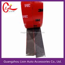 Alibaba china engine automobiles waterproof black pe foam tape 3mm adhesive double side sticker