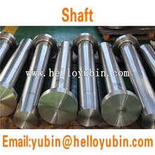 OEM China manufacturer forged AISI4140 steel shaft for wind power generator