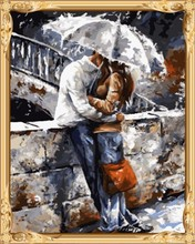 abstract lover man and women diy digital oil painting for home decor GX7538